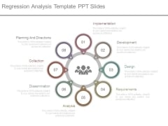 Regression Analysis Template Ppt Slides