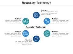 Regulatory Technology Ppt PowerPoint Presentation Slides Brochure Cpb