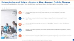 Reimagination And Reform Resource Allocation And Portfolio Strategy Introduction PDF