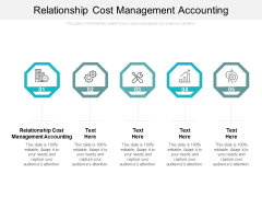 Relationship Cost Management Accounting Ppt PowerPoint Presentation Design Ideas Cpb