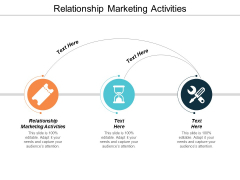 Relationship Marketing Activities Ppt Powerpoint Presentation Show Aids Cpb