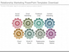 Relationship Marketing Powerpoint Templates Download