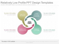 Relatively Low Profile Ppt Design Templates