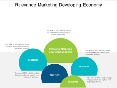 Relevance Marketing Developing Economy Ppt PowerPoint Presentation Model Rules Cpb