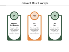 Relevant Cost Example Ppt PowerPoint Presentation Styles Picture Cpb Pdf