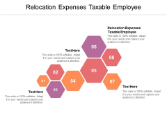 Relocation Expenses Taxable Employee Ppt PowerPoint Presentation Pictures Icon Cpb Pdf