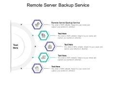 Remote Server Backup Service Ppt PowerPoint Presentation File Summary Cpb