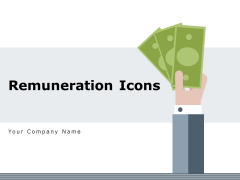Remuneration Icons Customer Online Shopping Ppt PowerPoint Presentation Complete Deck