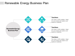 Renewable Energy Business Plan Ppt PowerPoint Presentation Pictures Tips Cpb