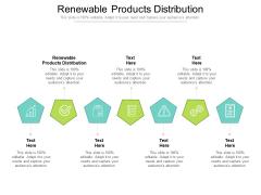 Renewable Products Distribution Ppt PowerPoint Presentation File Slides Cpb Pdf