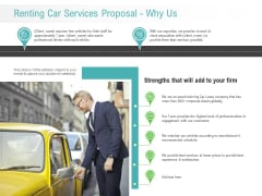 Renting Car Services Proposal Why Us Ppt Gallery Inspiration PDF