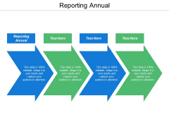 Reporting Annual Ppt Powerpoint Presentation Show Inspiration Cpb