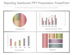Reporting Dashboard Ppt Presentation Powerpoint