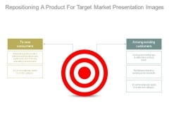 Repositioning A Product For Target Market Presentation Images