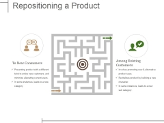 Repositioning A Product Ppt PowerPoint Presentation Styles Show