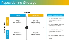Repositioning Strategy Ppt PowerPoint Presentation File Inspiration