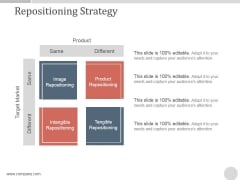 Repositioning Strategy Ppt PowerPoint Presentation Files