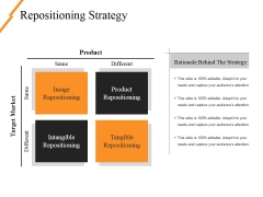 Repositioning Strategy Ppt PowerPoint Presentation Gallery Guidelines