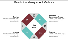 Reputation Management Methods Ppt PowerPoint Presentation File Designs Download Cpb