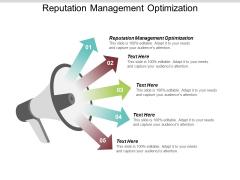Reputation Management Optimization Ppt PowerPoint Presentation Portfolio Model Cpb