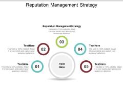 Reputation Management Strategy Ppt PowerPoint Presentation Styles Microsoft Cpb