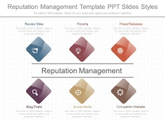 Reputation Management Template Ppt Slides Styles
