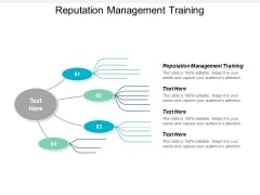 Reputation Management Training Ppt PowerPoint Presentation Slides Aids Cpb