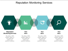 Reputation Monitoring Services Ppt PowerPoint Presentation Gallery Diagrams Cpb