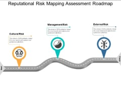 Reputational Risk Mapping Assessment Roadmap Ppt PowerPoint Presentation Pictures Professional