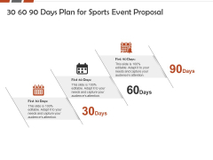 Request For Sporting 30 60 90 Days Plan For Sports Event Proposal Ppt Visual Aids Gallery PDF