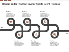 Request For Sporting Roadmap For Process Flow For Sports Event Proposal Ppt Infographic Template Format PDF