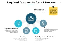 Required Documents For Hr Process Ppt PowerPoint Presentation Outline Example Topics