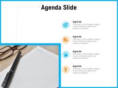 Requirement Gathering Techniques Agenda Slide Ppt Show Graphics PDF