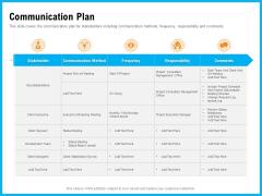 Requirement Gathering Techniques Communication Plan Graphics PDF