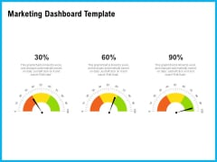 Requirement Gathering Techniques Marketing Dashboard Template Inspiration PDF