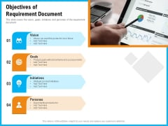 Requirement Gathering Techniques Objectives Of Requirement Document Ppt Summary Template PDF