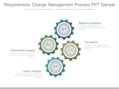 Requirements Change Management Process Ppt Sample