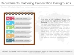 Requirements Gathering Presentation Backgrounds