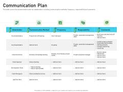 Requirements Governance Communication Plan Diagrams PDF