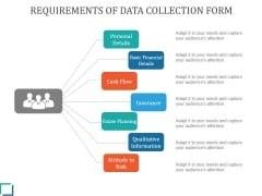 Requirements Of Data Collection Form Ppt PowerPoint Presentation Examples