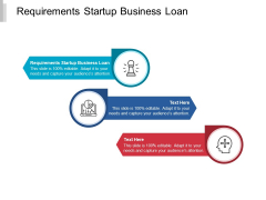 Requirements Startup Business Loan Ppt PowerPoint Presentation Inspiration Slideshow Cpb