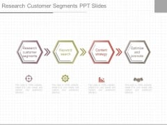 Research Customer Segments Ppt Slides