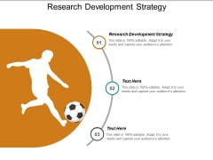 Research Development Strategy Ppt PowerPoint Presentation Summary Shapes Cpb