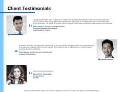Research For New Product Client Testimonials Ppt Ideas Master Slide PDF