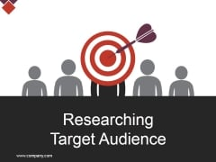 Researching Target Audience Ppt PowerPoint Presentation Styles Graphics Design