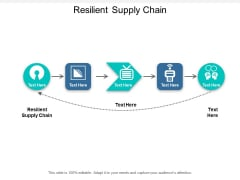 Resilient Supply Chain Ppt PowerPoint Presentation Visual Aids Summary Cpb