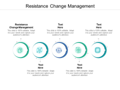 Resistance Change Management Ppt PowerPoint Presentation Infographic Template Outfit Cpb