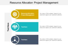 Resource Allocation Project Management Ppt PowerPoint Presentation Slides Master Slide Cpb Pdf