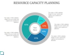 Resource Capacity Planning Ppt PowerPoint Presentation Example