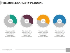 Resource Capacity Planning Template 1 Ppt PowerPoint Presentation Gallery Vector
